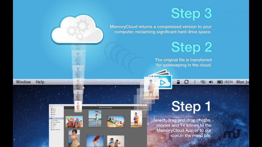 MemoryCloud for Mac - review, screenshots