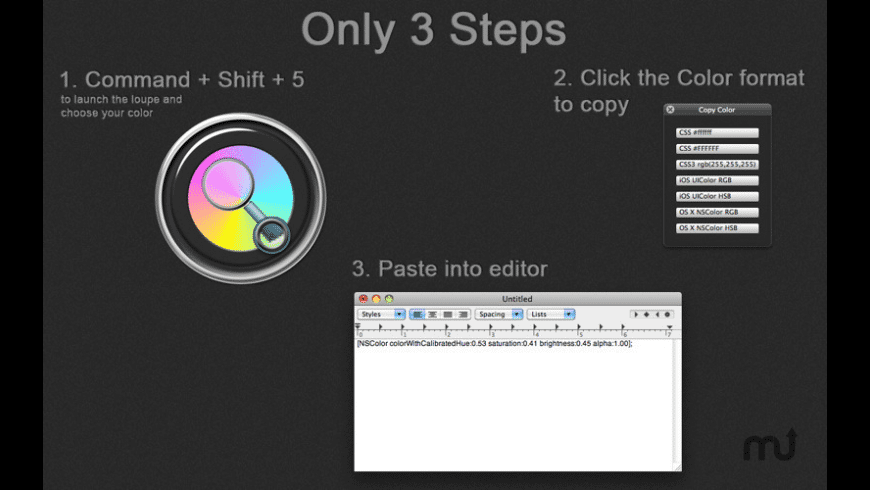 Colors for Mac - review, screenshots