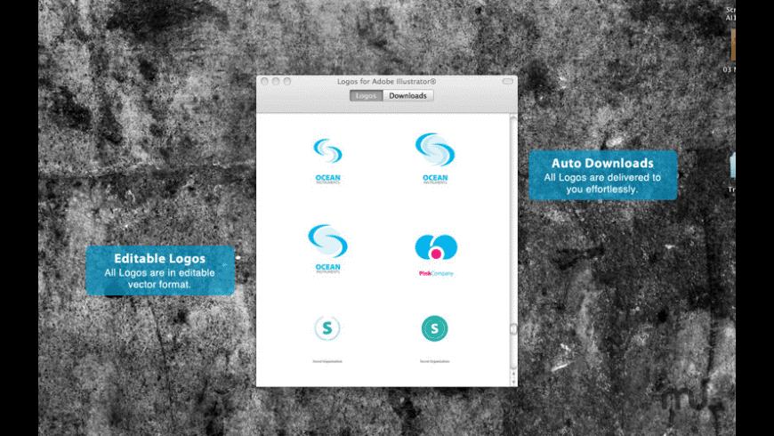 Logos for Adobe Illustrator for Mac - review, screenshots