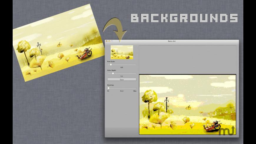 Retro Art for Mac - review, screenshots