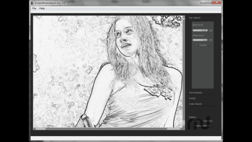 InstantPhotoSketch Pro for Mac - review, screenshots