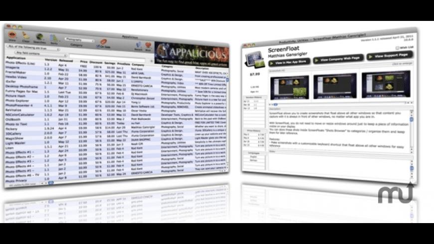 Appcuity for Mac - review, screenshots