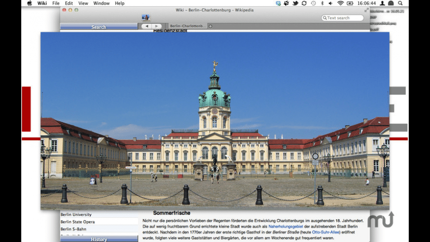 Wiki Reader for Mac - review, screenshots