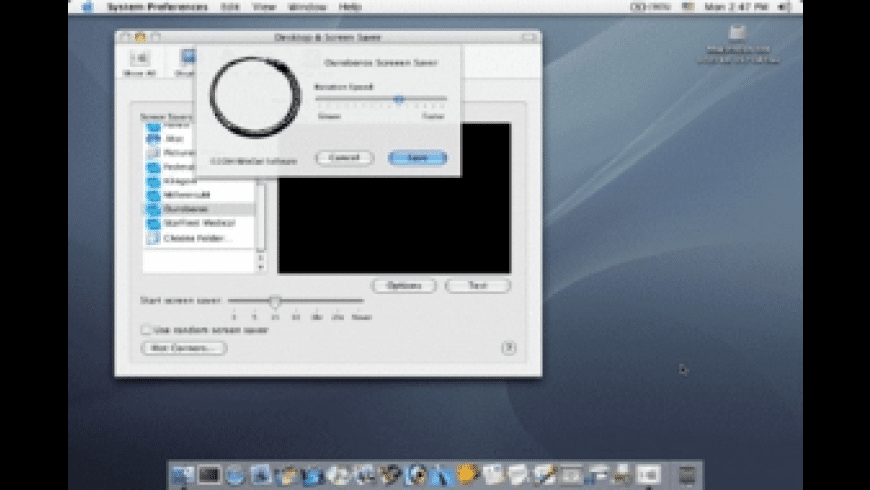 Ouroboros Screen Saver for Mac - review, screenshots