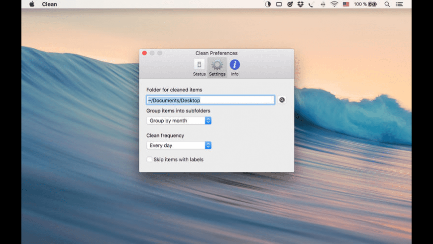 Clean for Mac - review, screenshots