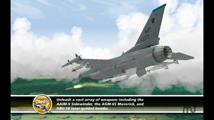 Falcon 4.0: Allied Force for Mac - review, screenshots