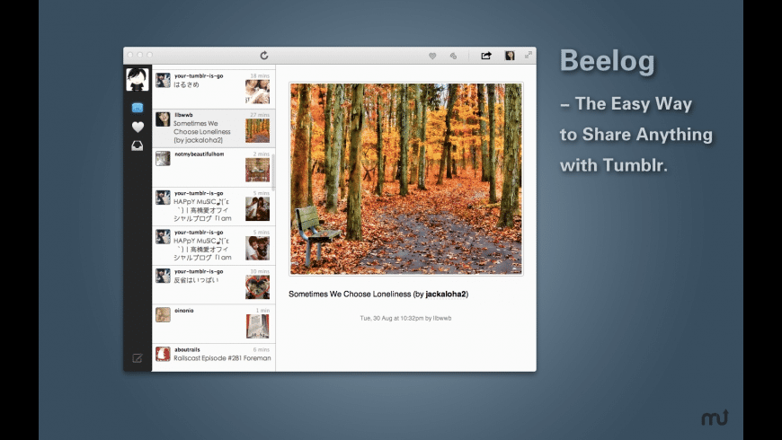 Beelog for Mac - review, screenshots