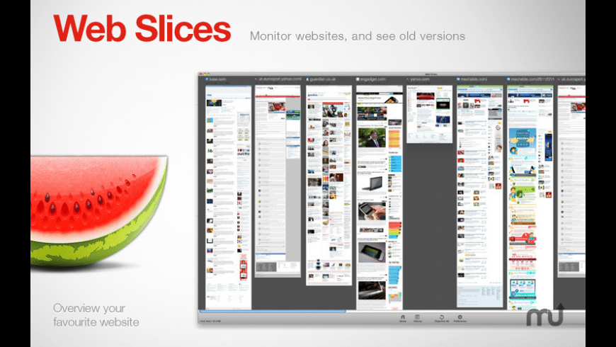 Web Slices for Mac - review, screenshots