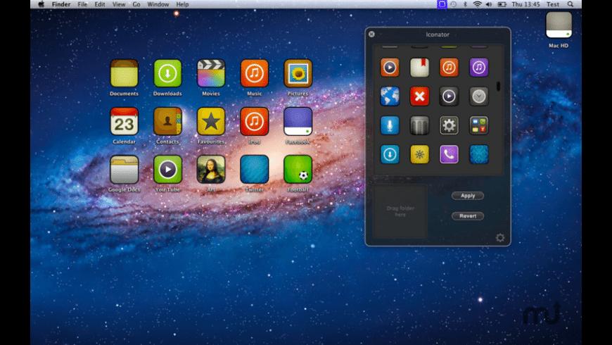 Iconator for Mac - review, screenshots