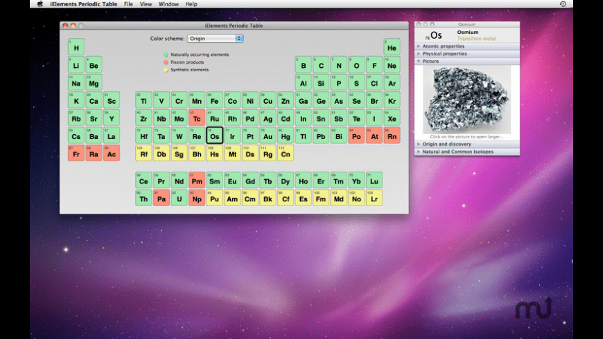 iElements for Mac - review, screenshots