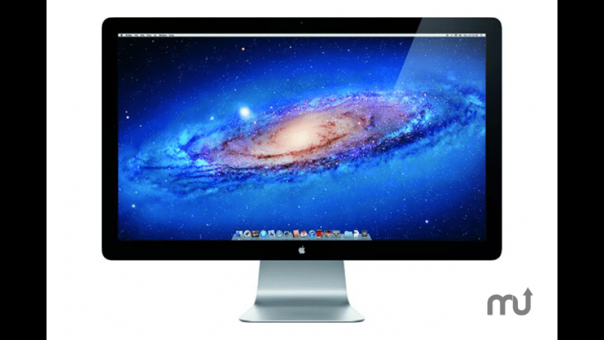 Apple Thunderbolt Display Firmware Update for Mac - review, screenshots