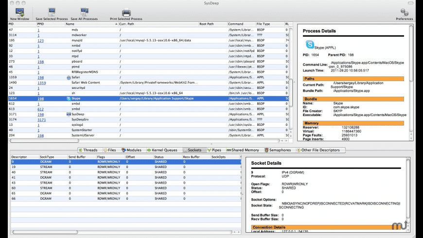 SysDeep for Mac - review, screenshots