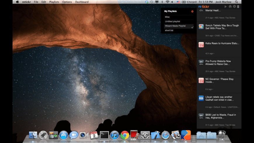 retickr for Mac - review, screenshots