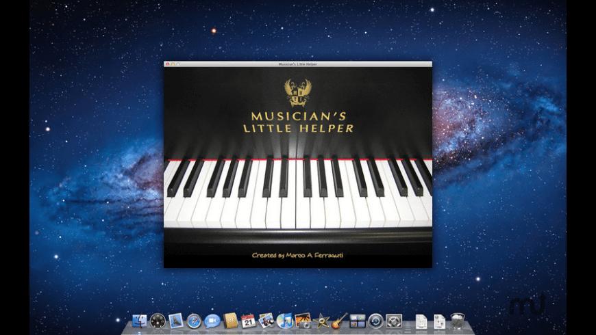 Musician's Little Helper for Mac - review, screenshots