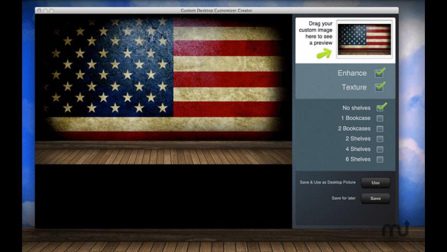 Desktop Wallpaper Customizer for Mac - review, screenshots