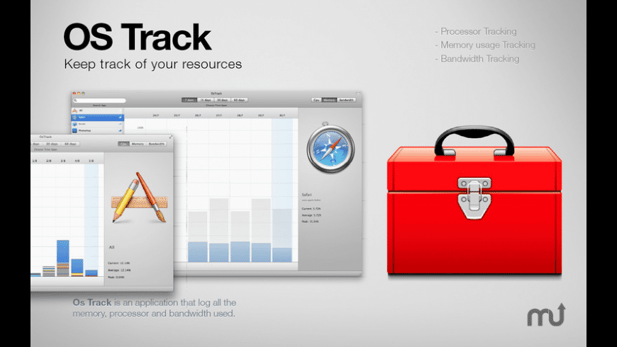 OS Track for Mac - review, screenshots