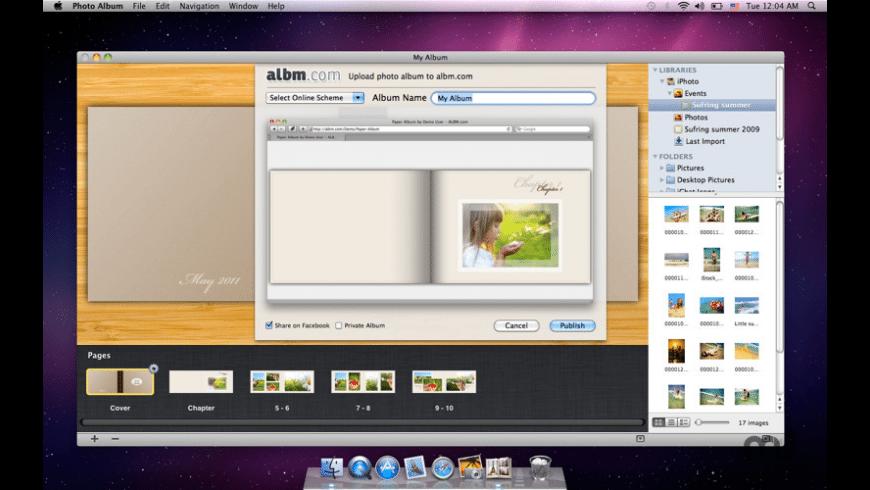 Photo Album  for Mac - review, screenshots