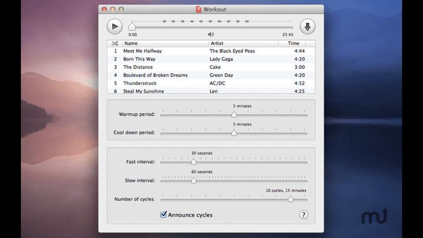 HIIT Workout for Mac - review, screenshots