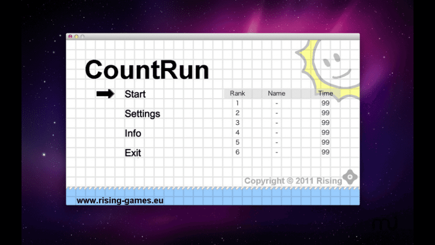 Count Run for Mac - review, screenshots