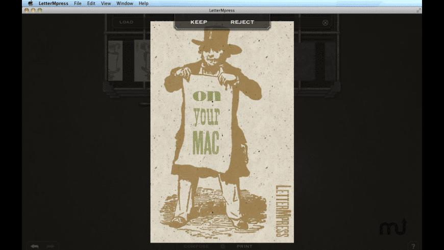 LetterMpress for Mac - review, screenshots