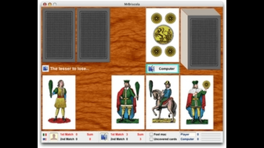 MrBriscola for Mac - review, screenshots