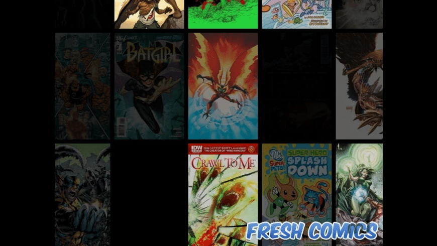 Fresh Comics Screensaver for Mac - review, screenshots