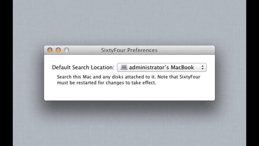 SixtyFour for Mac - review, screenshots