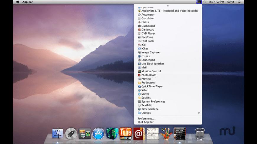 App Bar for Mac - review, screenshots