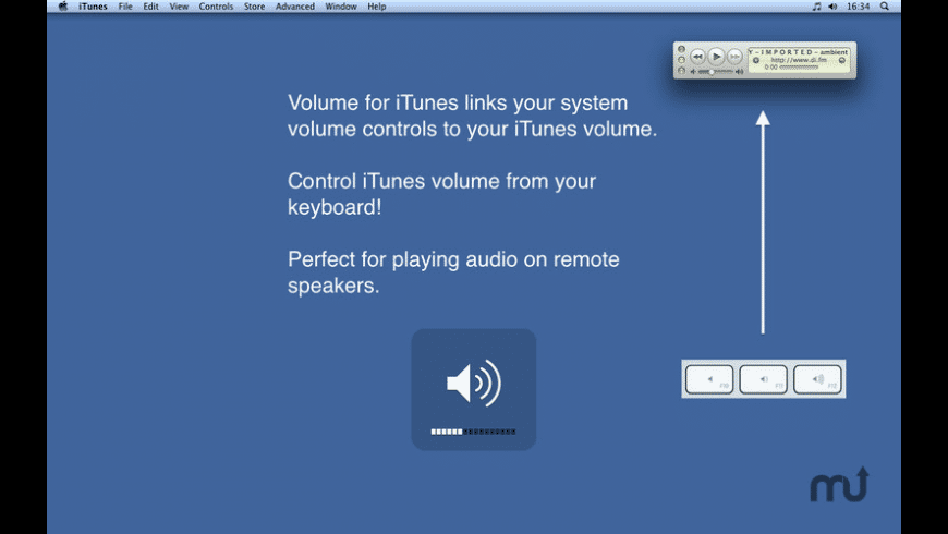 Volume for iTunes for Mac - review, screenshots