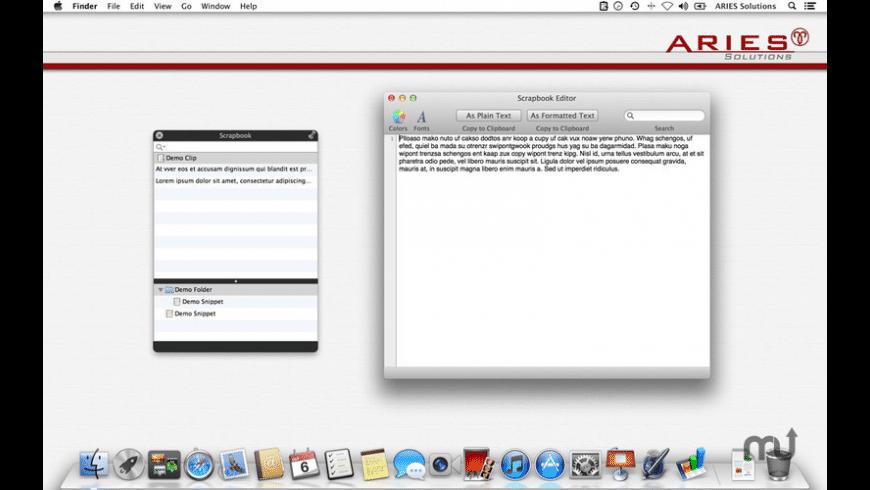 Scrapbook for Mac - review, screenshots