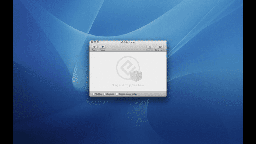 ePub Packager for Mac - review, screenshots