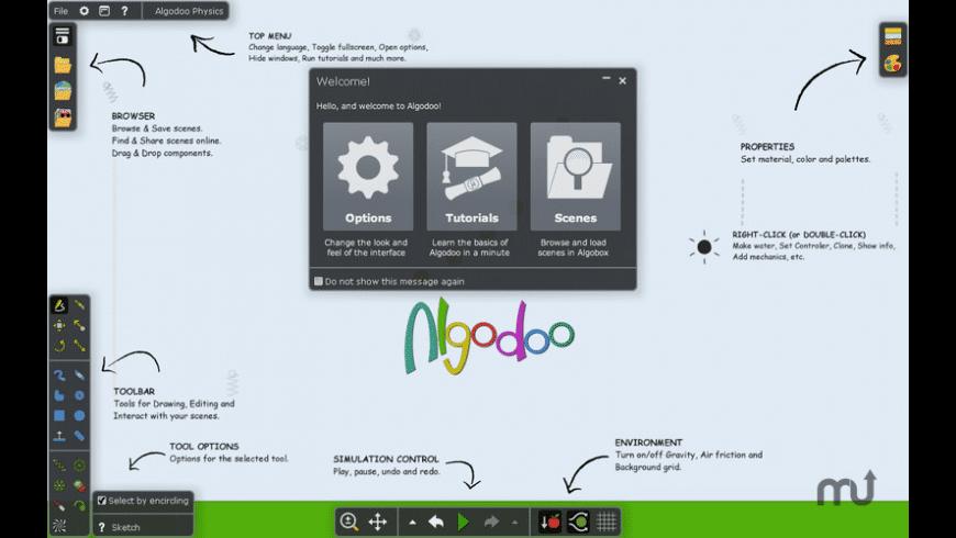 Algodoo Physics for Mac - review, screenshots