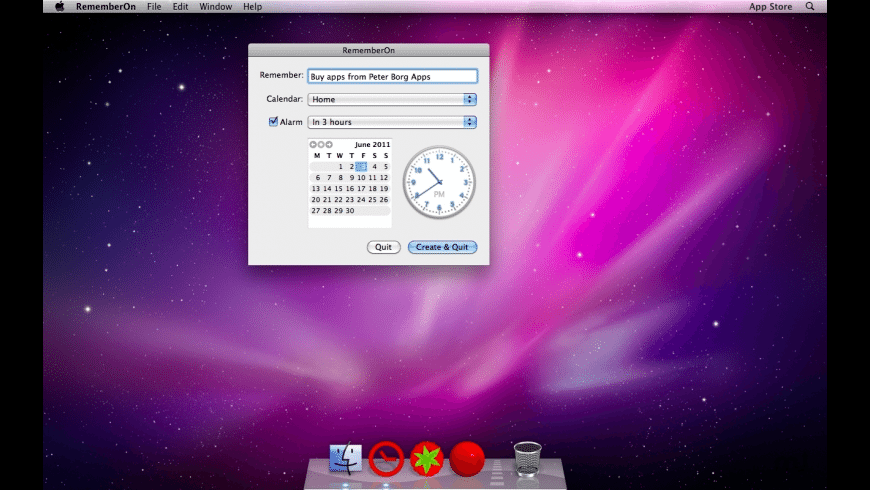 RememberOn for Mac - review, screenshots
