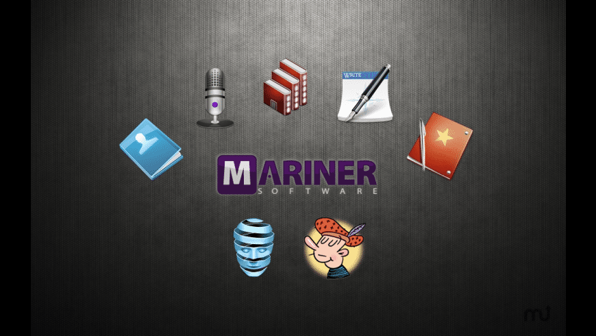 Mariner Writer's Suite for Mac - review, screenshots