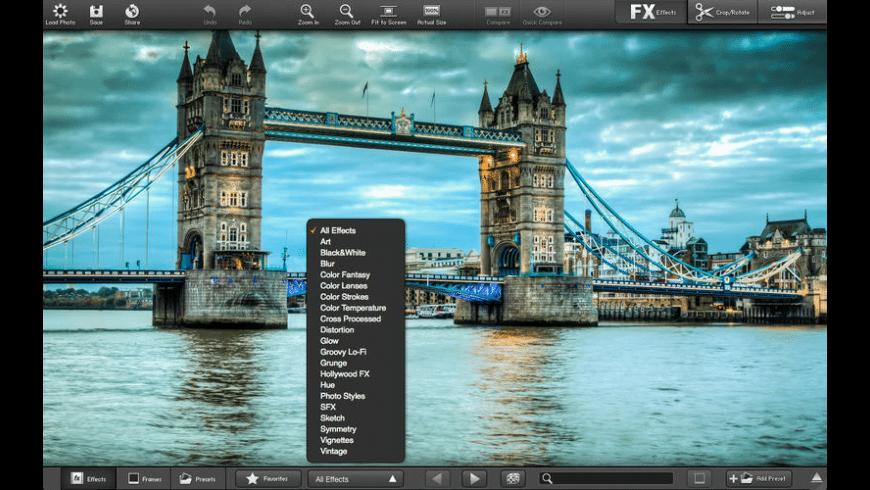 FX Photo Studio for Mac - review, screenshots