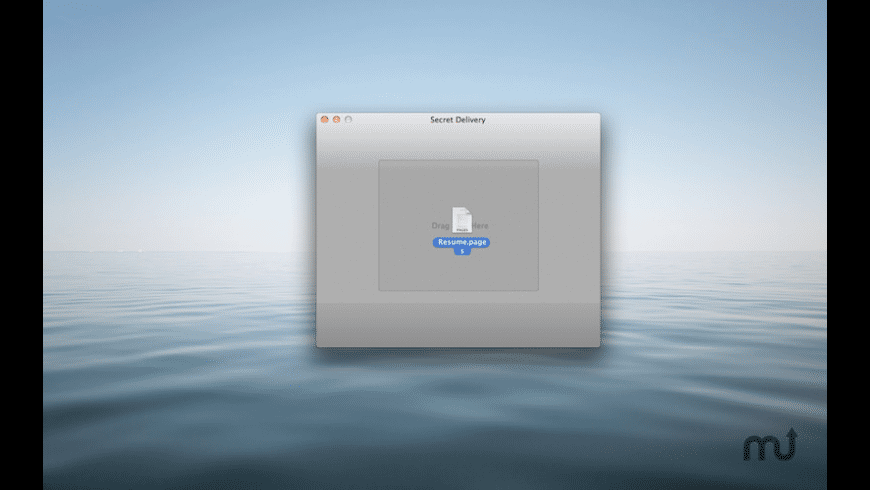 Secret Delivery for Mac - review, screenshots