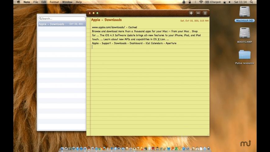 Note lite for Mac - review, screenshots