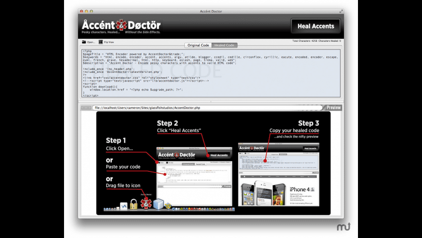 Accent Doctor for Mac - review, screenshots