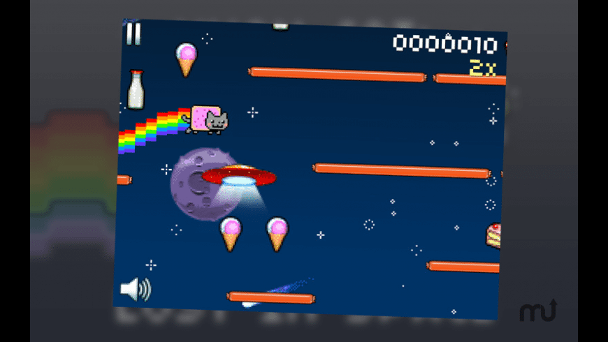 Nyan Cat: Lost In Space for Mac - review, screenshots