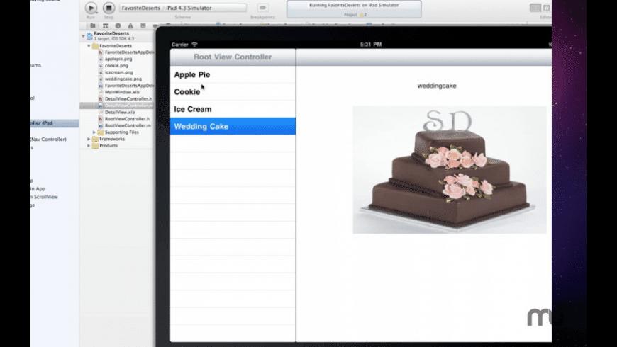 Tutorial for Xcode for Mac - review, screenshots