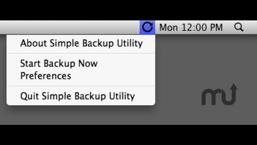 Simple Backup Utility for Mac - review, screenshots