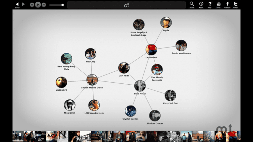 Discovr Music for Mac - review, screenshots