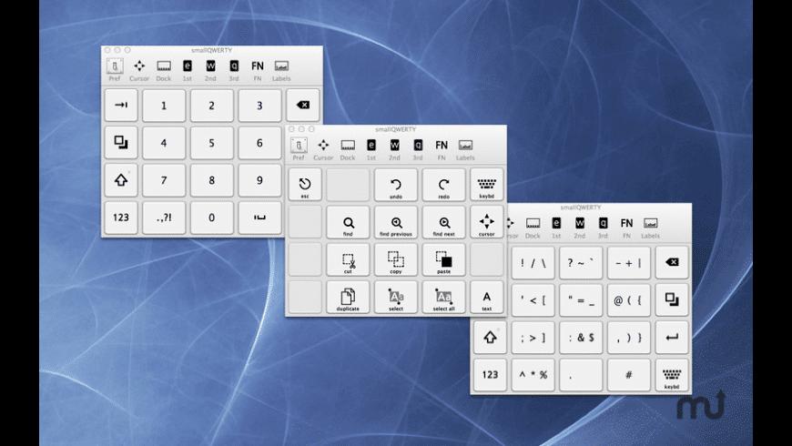 smallQWERTY for Mac - review, screenshots