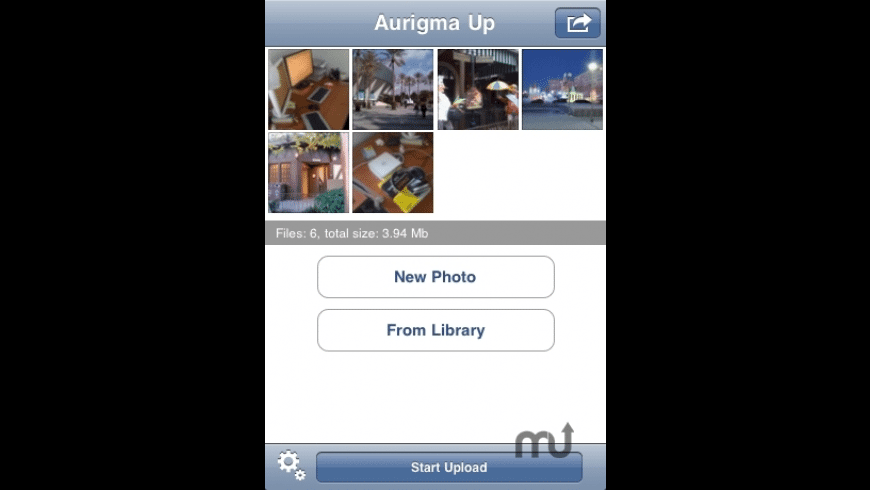 Aurigma Up for Mac - review, screenshots