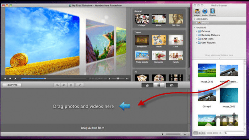 Wondershare Fantashow for Mac - review, screenshots