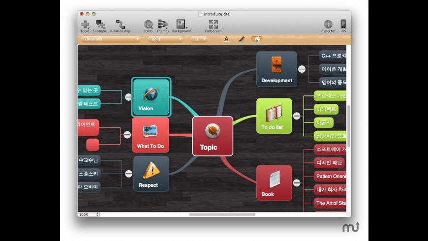 MindHD for Mac - review, screenshots