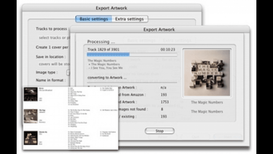 Export Artwork for Mac - review, screenshots
