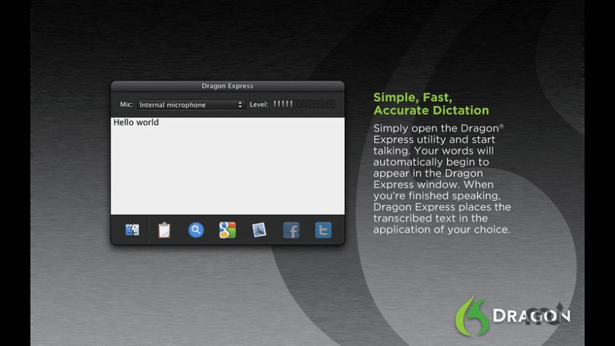 Dragon Express for Mac - review, screenshots