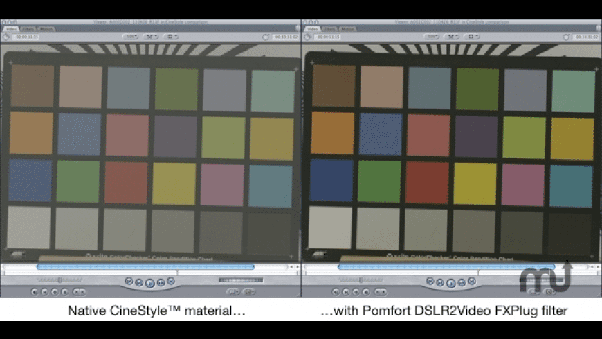 DSLR Log2Video FxPlug for Mac - review, screenshots