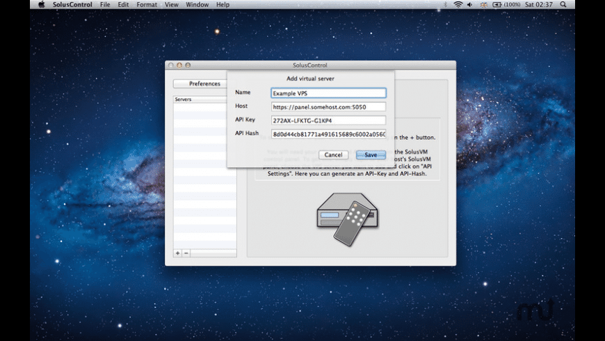 SolusControl for Mac - review, screenshots